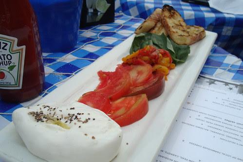 Burrata and Crostini Platter at Rush Street
