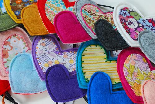 heart headbands