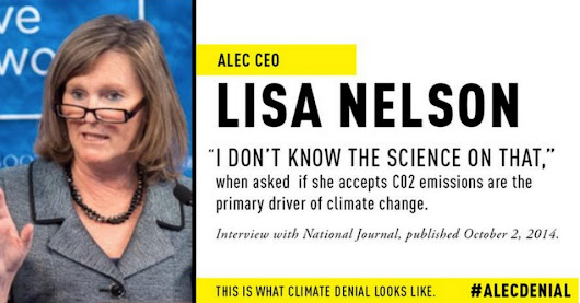 ALEC Appoints New Chair To Climate Denial Task Force