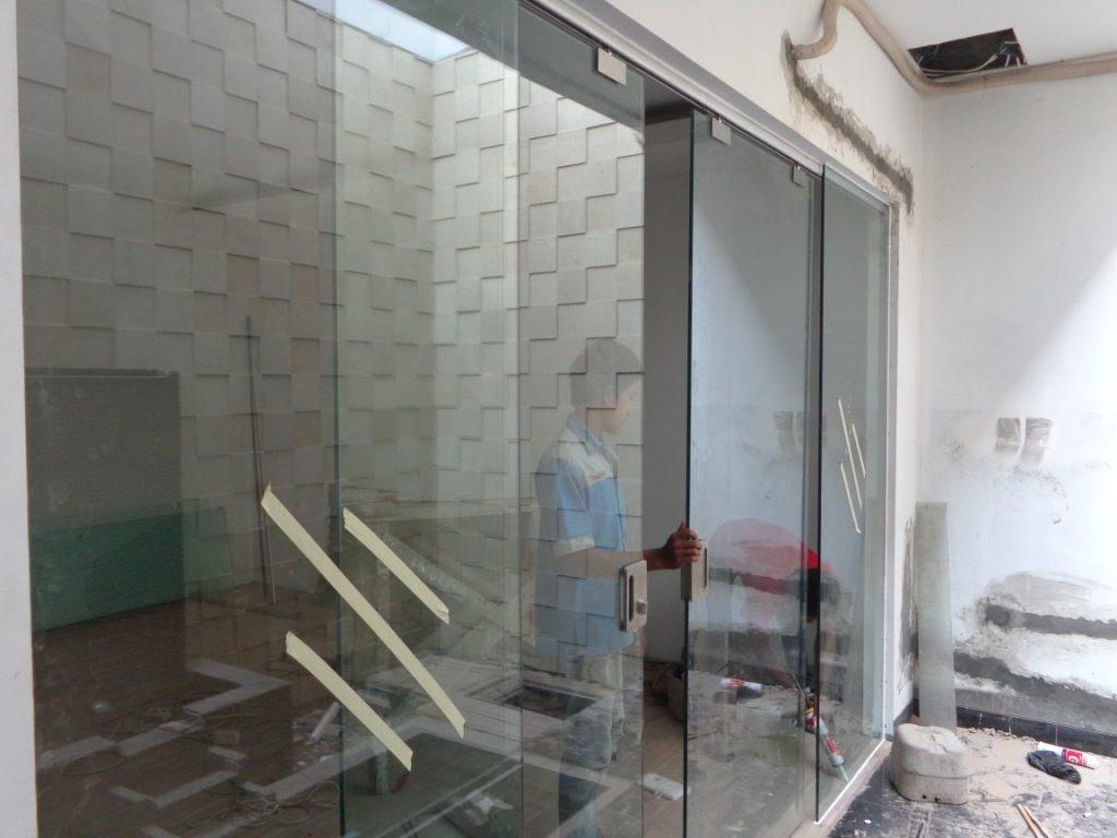 Pintu Geser Aluminium Toko Teguh Karya Kaca dan Aluminium