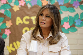 First Lady Visits Children's Shelter on Texas Border