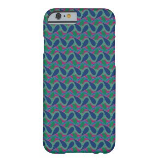 Blue Wave Design on iPhone 6 Barely There Case Barely There iPhone 6 Case