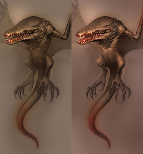 creature design tutorial step 4