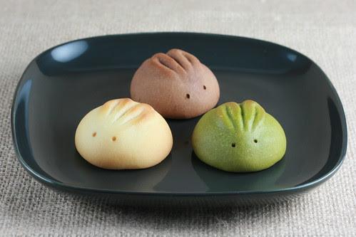 Rabbit Mochi/Manju from Piyonya of Kyoto