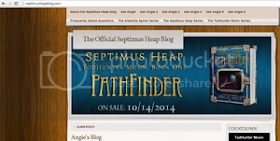 Link of The Week #7: The Official Septimus Heap Blog