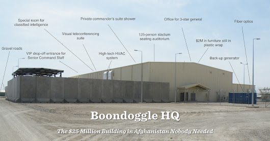 Boondoggle HQ: The $25 Million Building in Afghanistan Nobody Needed