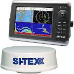 SI-TEX NavStar 12R GPS Chartplotter, Sonar, Radar System w-MDS-12 Radar [NAVSTAR 12R]