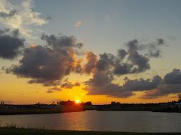 Sunset in O.P. Fl.