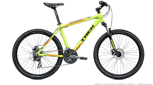 Trek recalls nearly 1 million bikes for safety issue