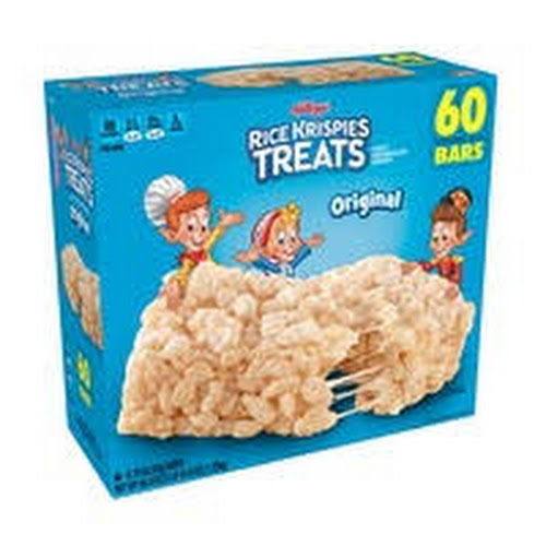 Kellogg's Original Rice Krispies Treats - Original - 60 / Carton