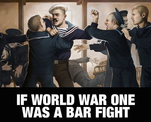 If World War One Was A Pub Fight - The Poke