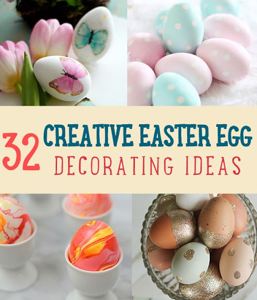 32 Creative Easter Egg Decorating Ideas Anyone Can Make