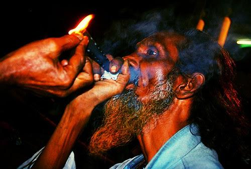 The Rafaee Bawa  Smokes by firoze shakir photographerno1