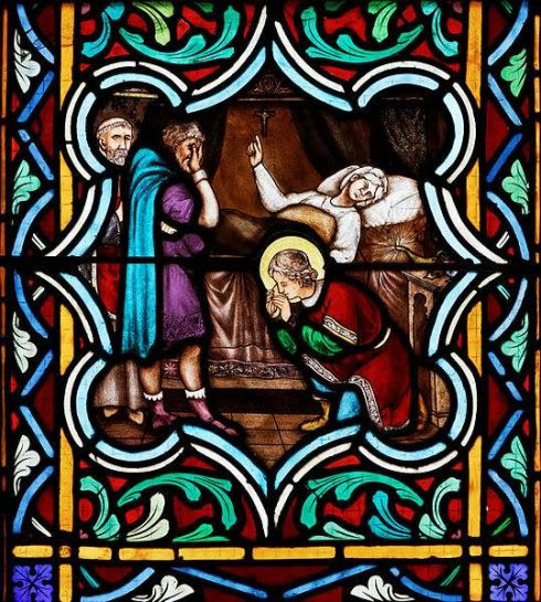 Death of St. Anselm's Mother, photo by Thesupermat.