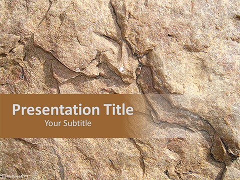 Free Hard Rock Texture Powerpoint Template Download Free Powerpoint Ppt