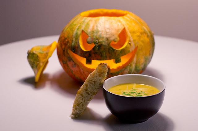 Juustu-kõrvitsasupp / Cheesy pumpkin soup