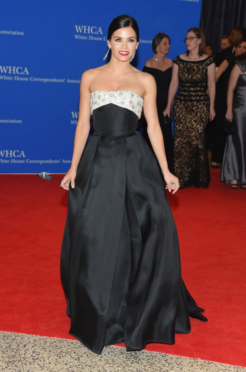 JENNA DEWAN at White House Correspondents Association Dinner in Washington