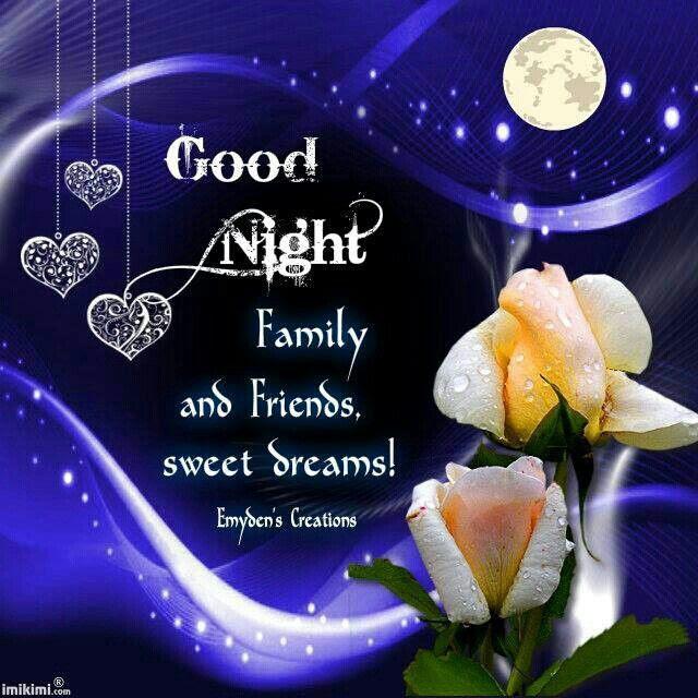 Good Night Sweet Dreams My Friends Traffic Club