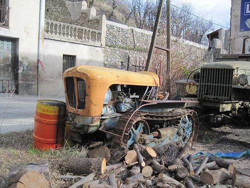 Tractor a Fontpedrosa (El Conflent)