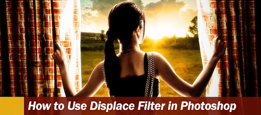 How to Use Displace Filter in Photoshop - DesignOptimal.com