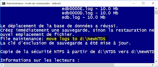 [Active Directory – Tool of the Week] 1# : Introduction à l'outil NTDSUtil.exe
