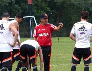 Ney Franco Treino Flamengo (Foto: Globoesporte.com)