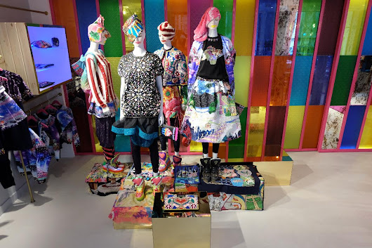 Manish Arora opens Paris flagship