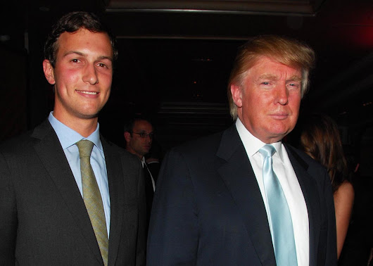 Donald Trump Taps Son-In-Law To Head Bureaucracy Overhaul......
