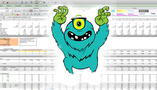 """Life of a solar project after the dust has settled"" Part 2: Dealing with the monster consolidating excel spreadsheet"