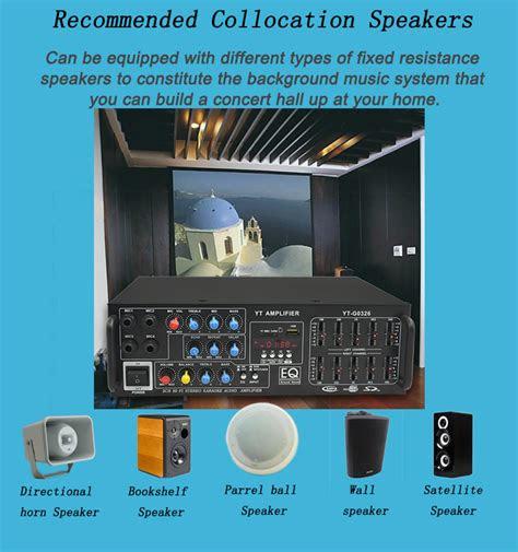 digital echo av karaoke amplifier stereo yt  audio