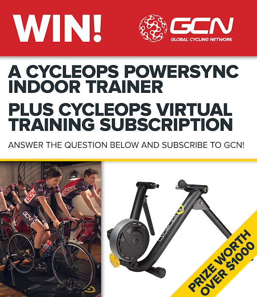 Win a CycleOps Power Sync Trainer!