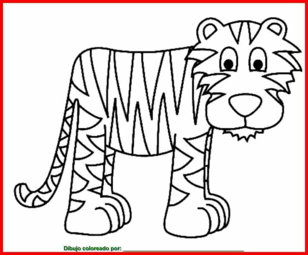 Dibujo De Animal Para Colorear E Imprimir