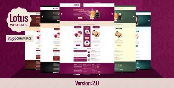 Download ThemeForest – Lotus v.1.01 – Spa Wellness & Beauty Saloon WordPress Theme