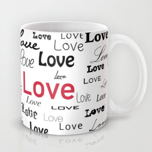 Mug Cup of Love  Coffee or Tea Gift Valentine's Day by RandomOasis