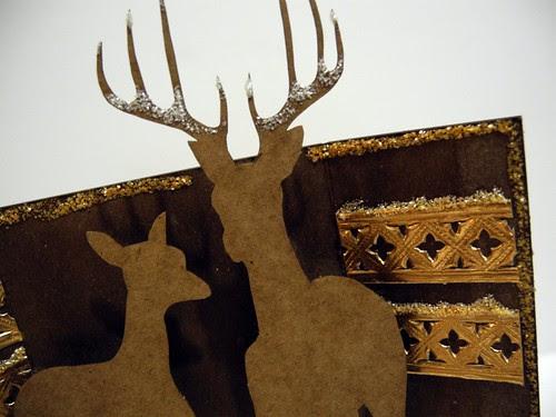 winter deer shrine (detail 2)