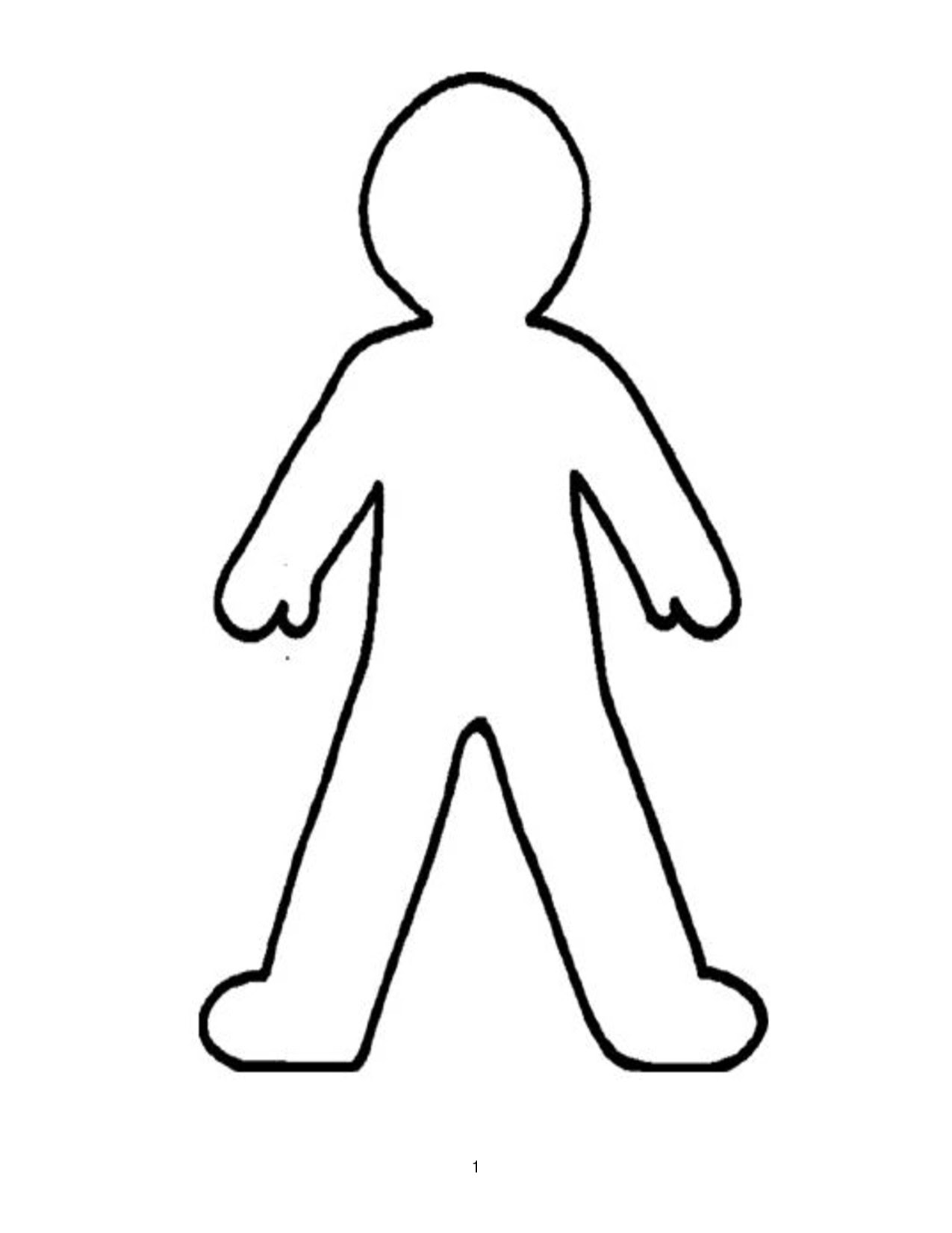 Person Coloring Page : person, coloring, Human, Coloring, Pages, Download, Print