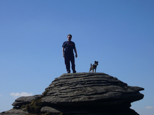 Teasel and Jim bagging a Tor Top