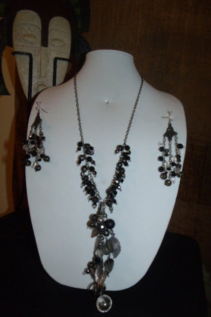 Handmade Necklace jewelry set by OCJewelryDesign on Etsy