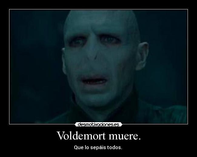 Voldemort muere