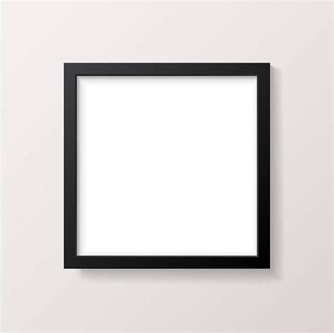 square frame mockup black picture frame product mock