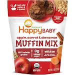 HappyBaby Organics Apple Carrot & Cinnamon Muffin Mix Bag - 8oz