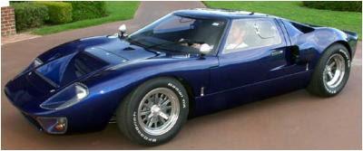 CAV California Advanced Vehicles GT40 replica