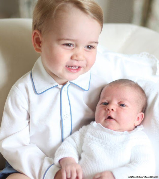 Prince George and Princess Charlotte pictures released - News Blogspot