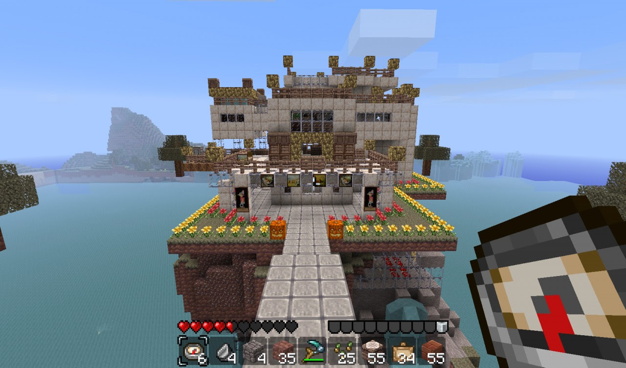 Wool House (Big Update) Minecraft Project