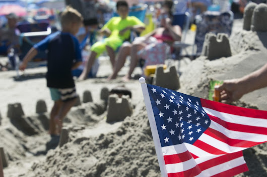 A midweek Fourth of July doesn't slow Shore crowds - Philly