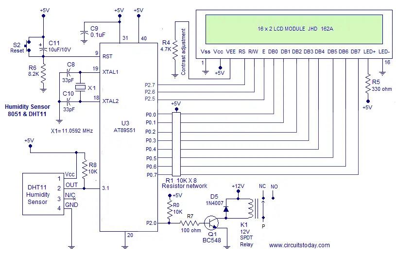 hygrometer circuit