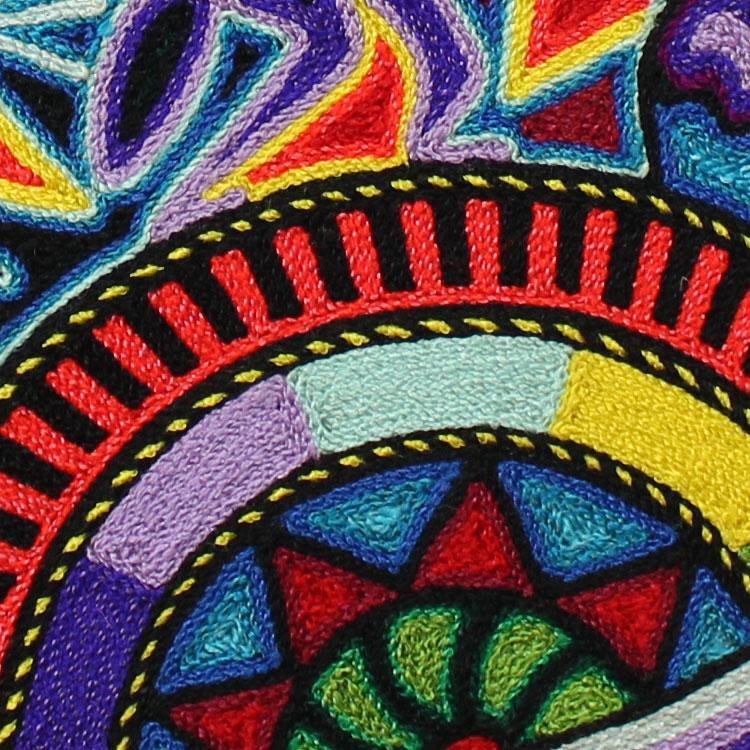 Huichol Yarn Art Collection - Huichol Yarn Painting - YPR1211