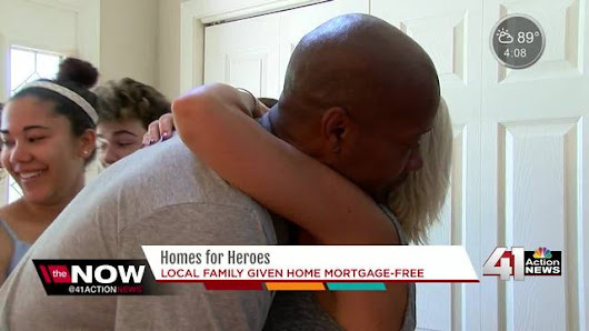Wounded U.S. Army veteran, family receive mortgage-free home in Lee's Summit