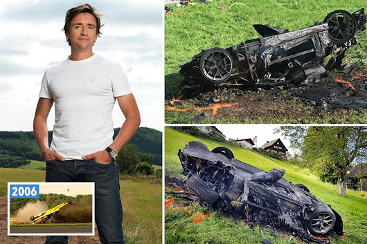 Richard Hammond airlifted to hospital after cheating death in horror crash in Switzerland
