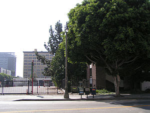 Los Angeles Times parking lot